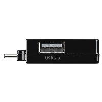 USB-C хъб 1:3 HAMA Pocket, 1 x USB-A 3.1, 2 x USB-A 2.0, Черен Снимка 5