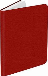 Калъф кожен BOOKEEN Classic, за eBook четец DIVA, 6 inch, магнит, Червен Снимка 2