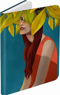 Калъф кожен BOOKEEN Classic, за eBook четец DIVA, 6 inch, магнит, Lily Shygirl Снимка 3