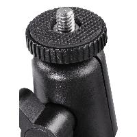 Универсална автомобилна стойка за камера HAMA 04356, Вакумно залепяне, Вртяща глава на 360°, Черен Снимка 4