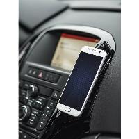 Магнитна стойка за кола за  телефон HAMA Magnetic Aluminium, Черен Снимка 4