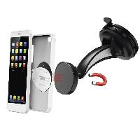 Магнитна стойка за стъкло и кола HAMA Magnet, за навигации/телефон/таблет, Черен Снимка 2