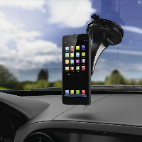 Магнитна стойка за стъкло и кола HAMA Magnet, за навигации/телефон/таблет, Черен Снимка 4