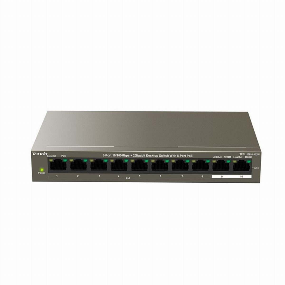 SWITCH TENDA TEF1110P-8-102W