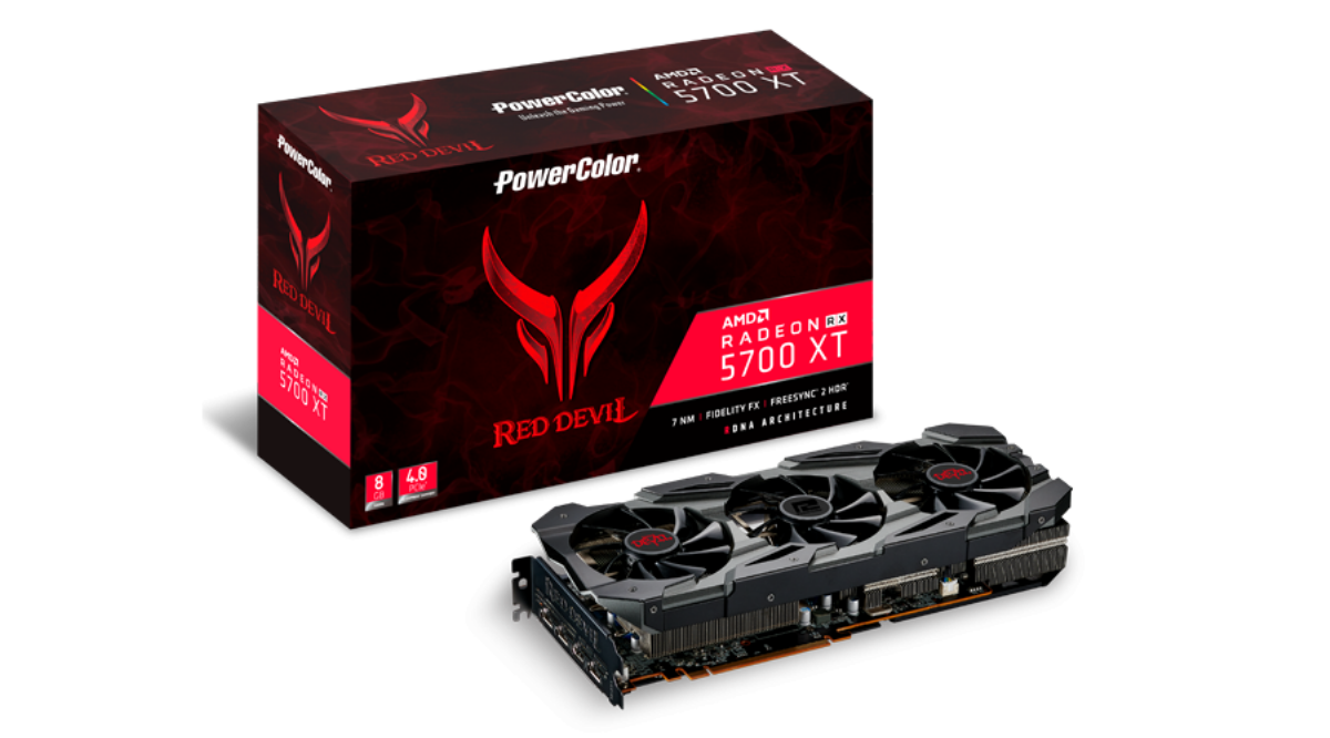 Видео карта PowerColor Red Devil Radeon RX 5700 XT 8GB