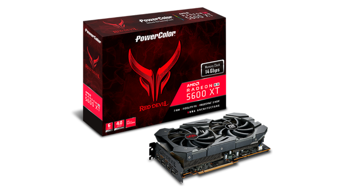 Видео карта PowerColor Red Devil RX 5600 XT 6GB