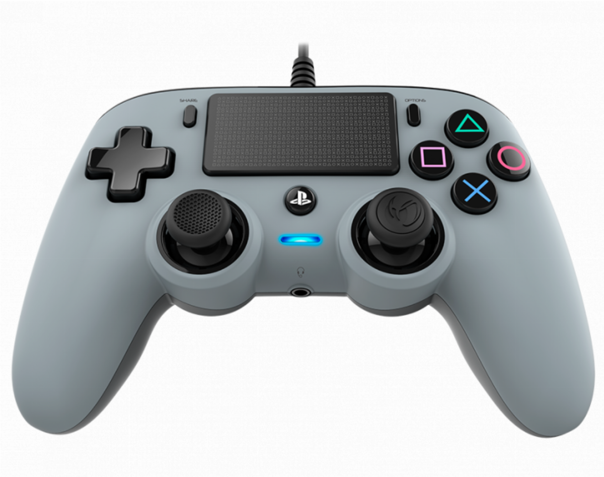Жичен геймпад Nacon Wired Compact Controller Silver