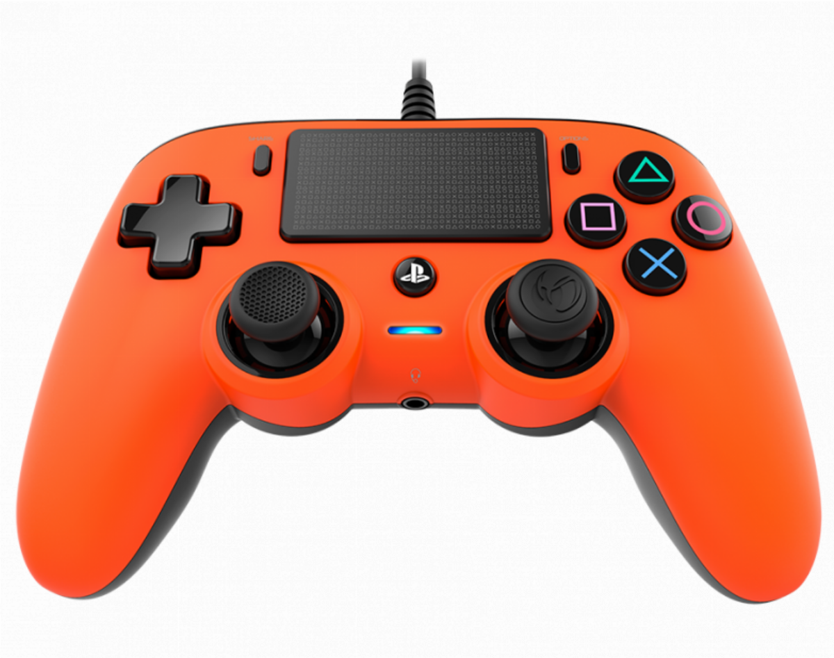 Жичен геймпад Nacon Wired Compact Controller Orange