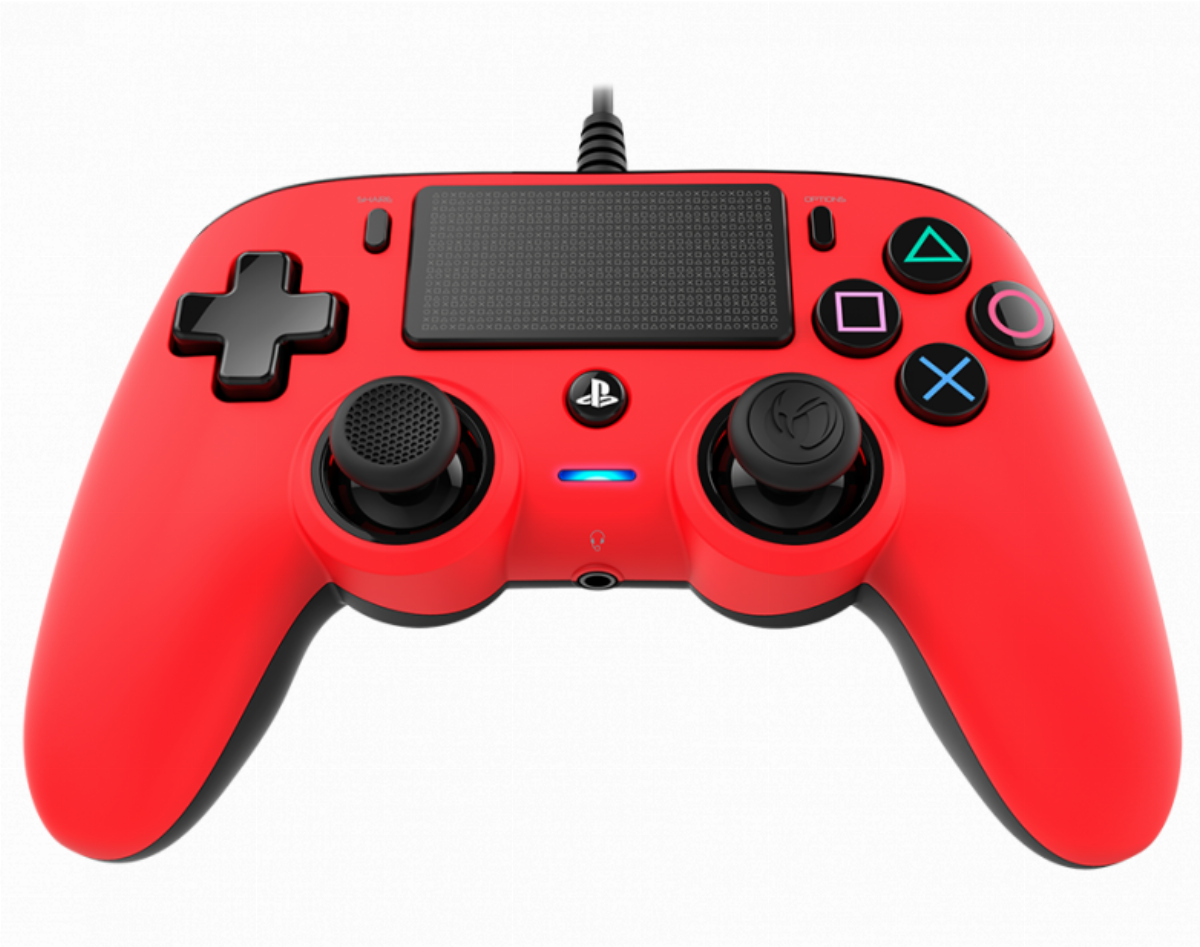 Жичен геймпад Nacon Wired Compact Controller Red