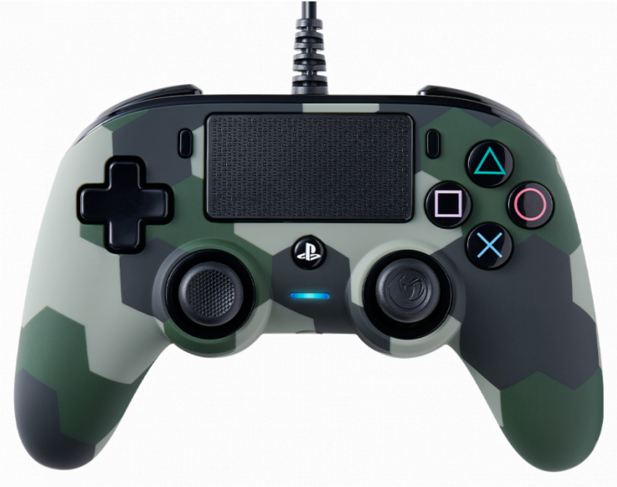 Жичен геймпад Nacon Wired Compact Controller Camo Green