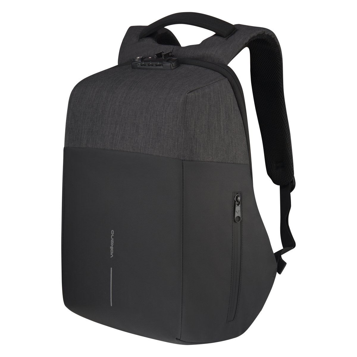 "Volkano раница за лаптоп Laptop Smart anti-theft Backpack 15.6"" - VK-7081-BKCH"