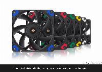 Вентилатор Noctua 120x120x15mm NF-A12x15 PWM chromax.black.swap Снимка 3