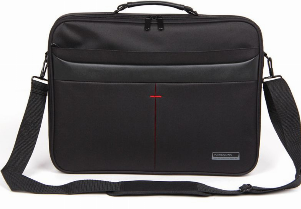 "Kingsons Чанта за лаптоп Laptop Bag 15.6"" K8444W-A :: Corporate Series - Black"