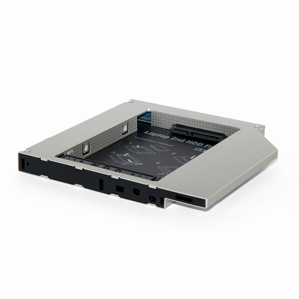 OEM Чекмедже Laptop Caddy 9.5mm SATA/SATA3 2nd hdd/ssd on optical DVD slot