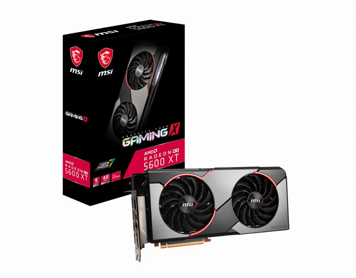 Видео карта MSI Radeon RX 5600 XT GAMING X 6GB