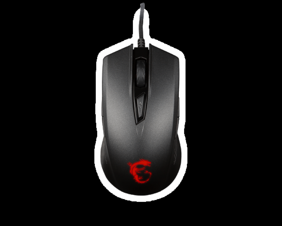 MSI GAMING MOUSE CLUTCH GM40 B