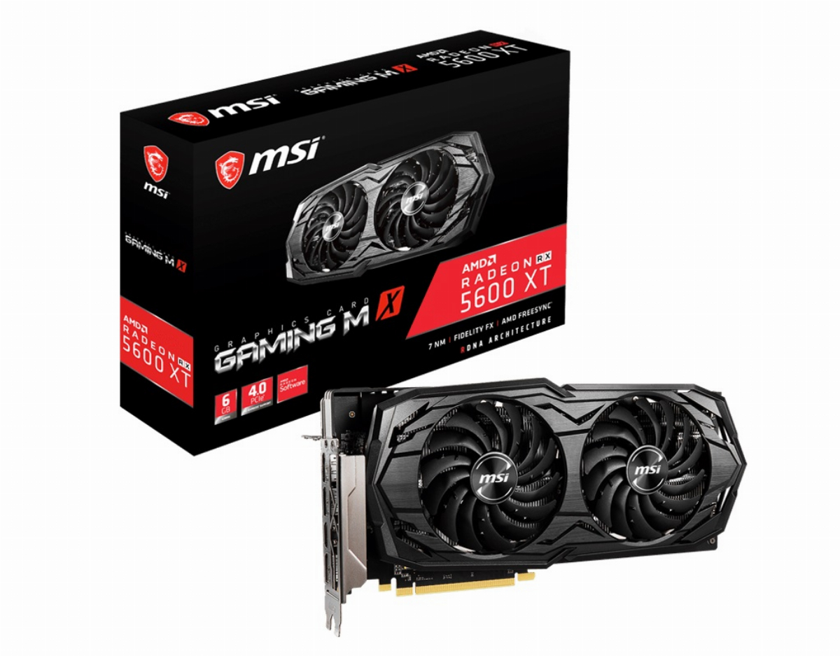 Видео карта MSI Radeon RX 5600 XT GAMING MX 6GB