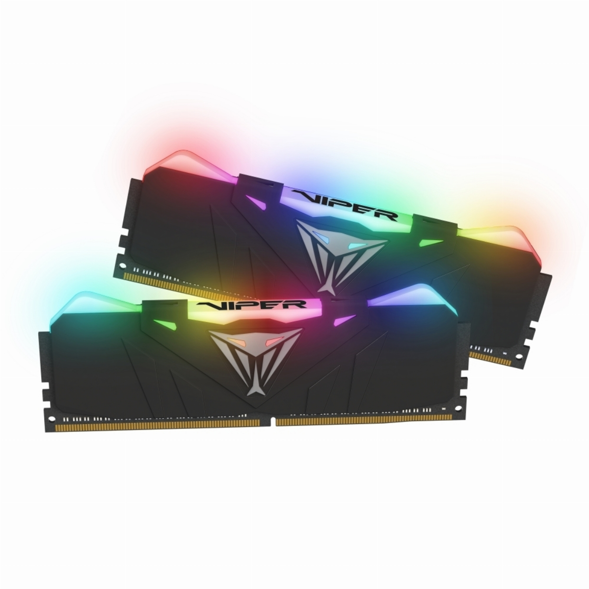 Памет Patriot Viper RGB Black 16GB (2x8GB) 2666Mhz DDR4 CL15