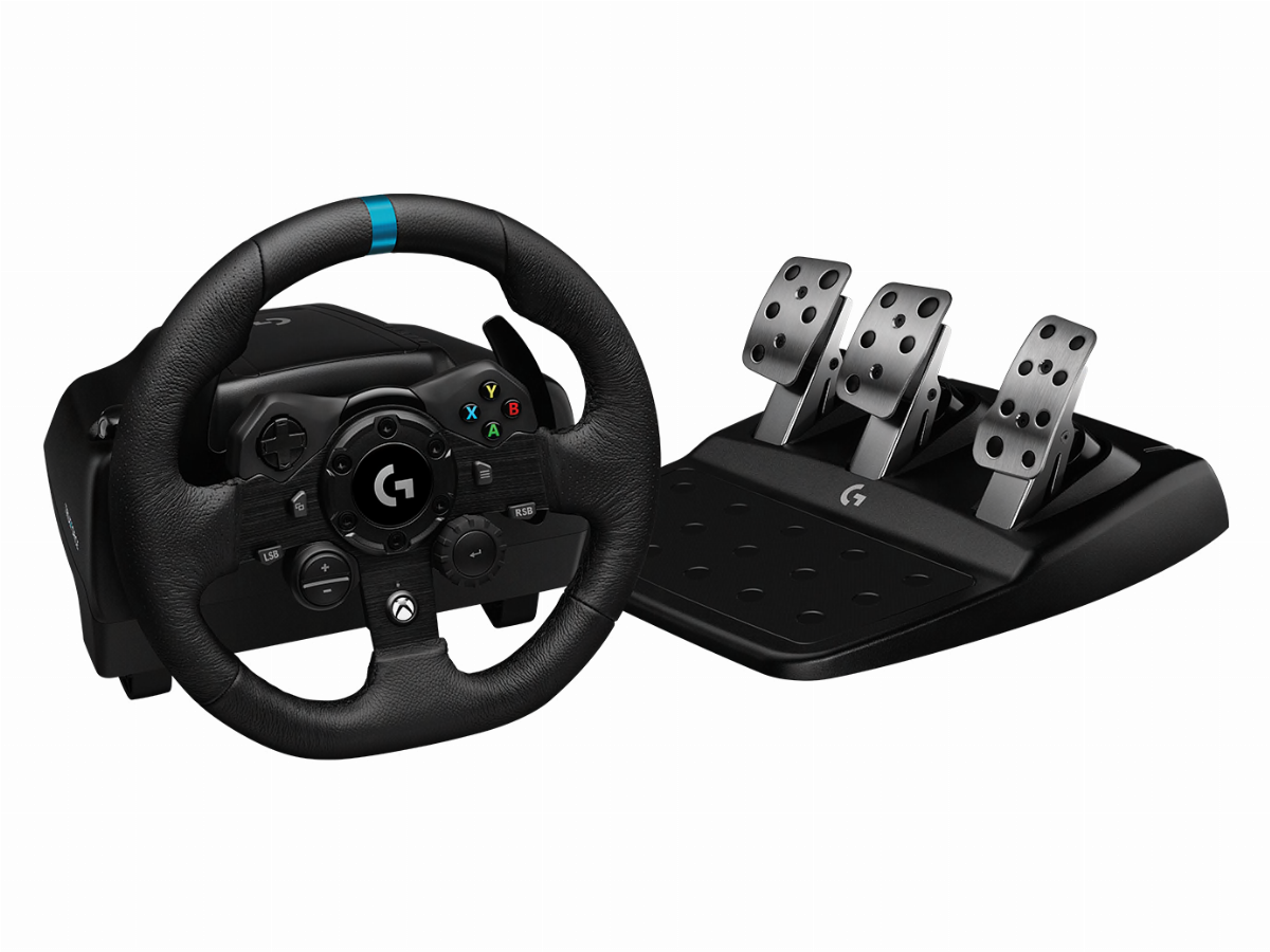 Волан LOGITECH G923 TRUEFORCE SIM RACING WHEEL FOR XBOX & PC