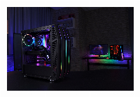Кутия AeroCool KLAW аRGB, Tempered Glass Снимка 8