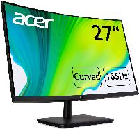 """Монитор ACER 27"""" ED270RPBIIPX, FullHD (1920x1080), Curved VA, 165Hz,  5ms, AMD FreeSync Снимка 2"""