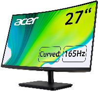 """Монитор ACER 27"""" ED270RPBIIPX, FullHD (1920x1080), Curved VA, 165Hz,  5ms, AMD FreeSync Снимка 3"""
