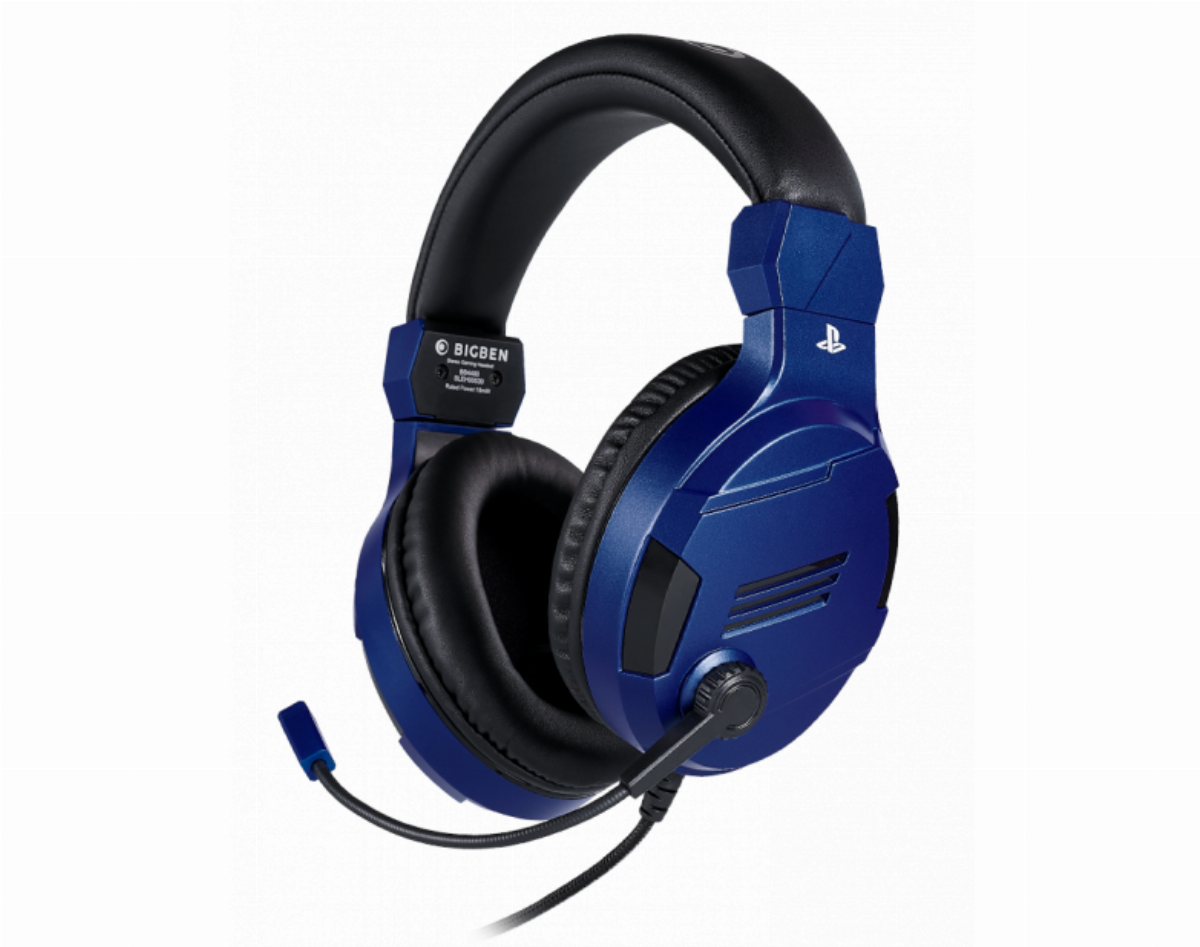Геймърски слушалки Nacon Bigben PS4 Official Headset V3 Blue