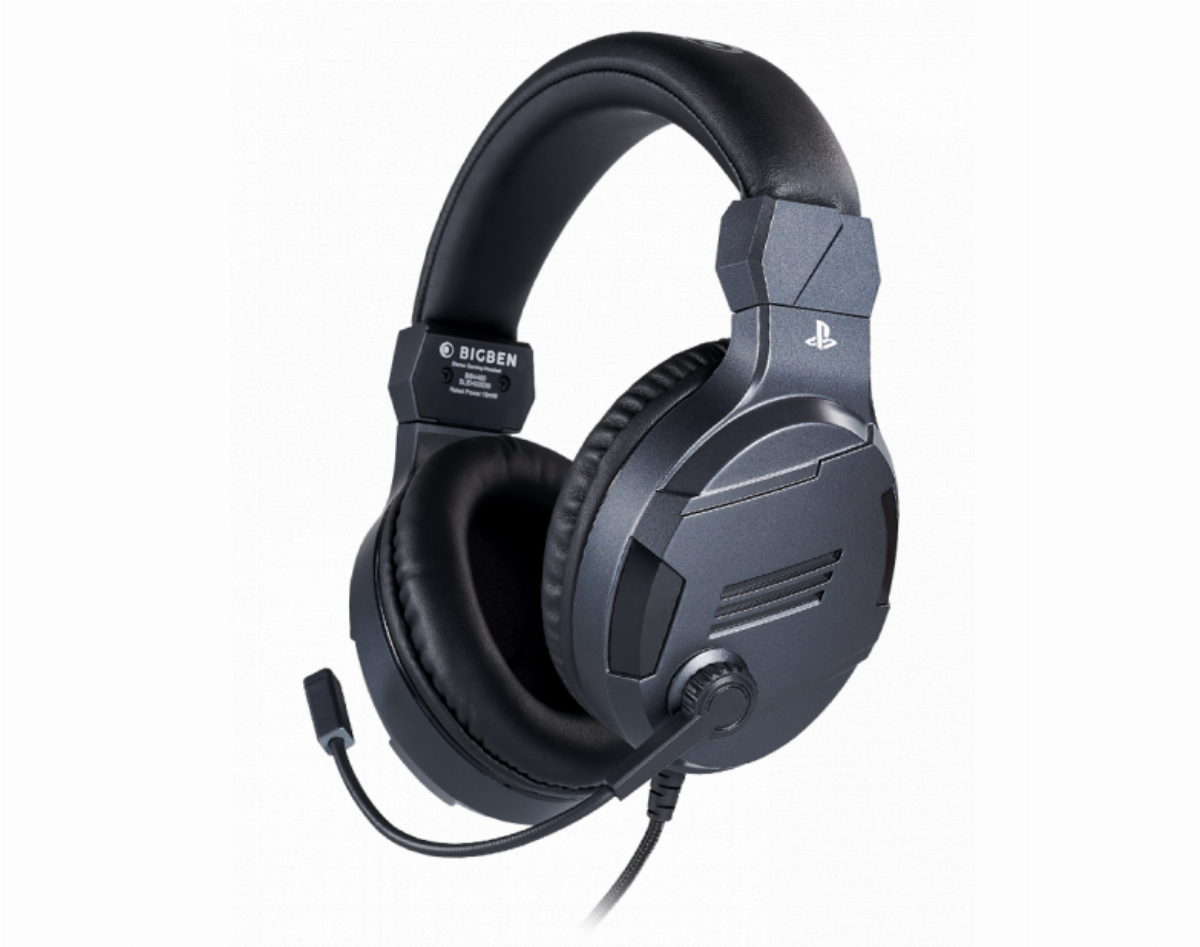 Геймърски слушалки Nacon Bigben PS4 Official Headset V3 Titanium