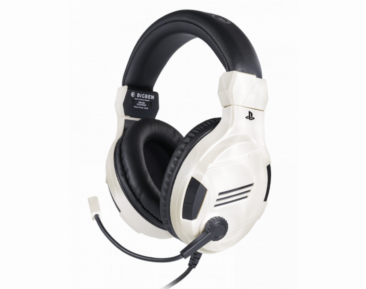Геймърски слушалки Nacon Bigben PS4 Official Headset V3 White