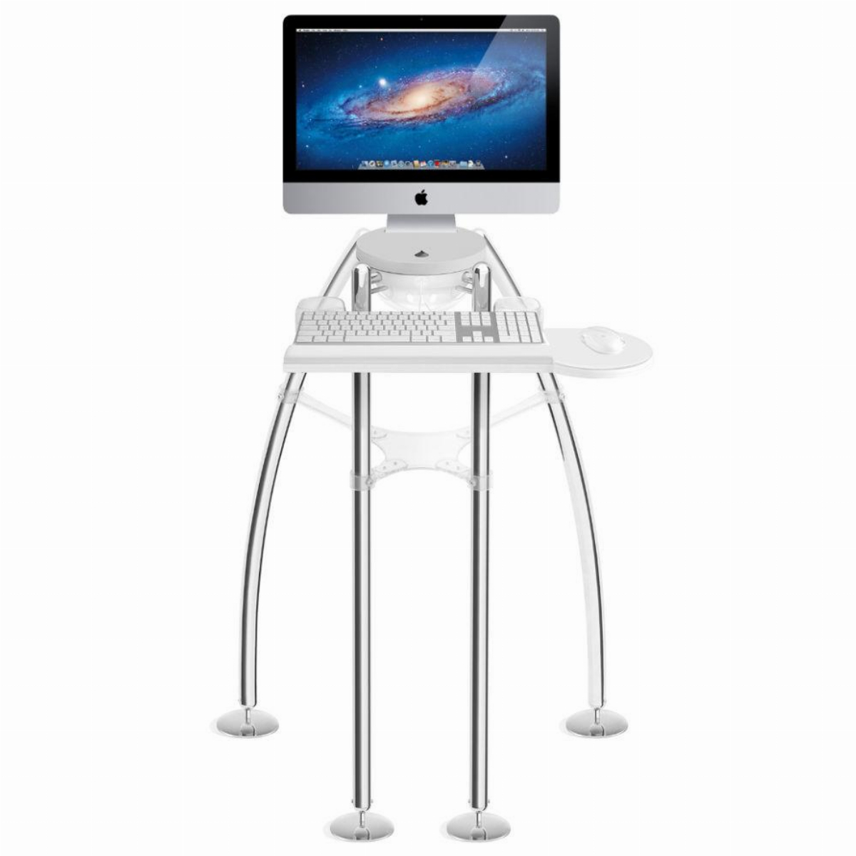 "Поставка за компютър Rain Design iGo Desk за Apple iMac 24-27"" Standing Model"