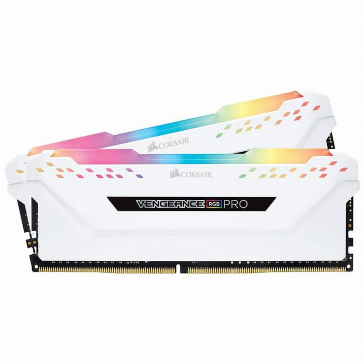 Памет Corsair 16GB (2x8GB) Vengeance RGB PRO White DDR4 3200MHz CL16