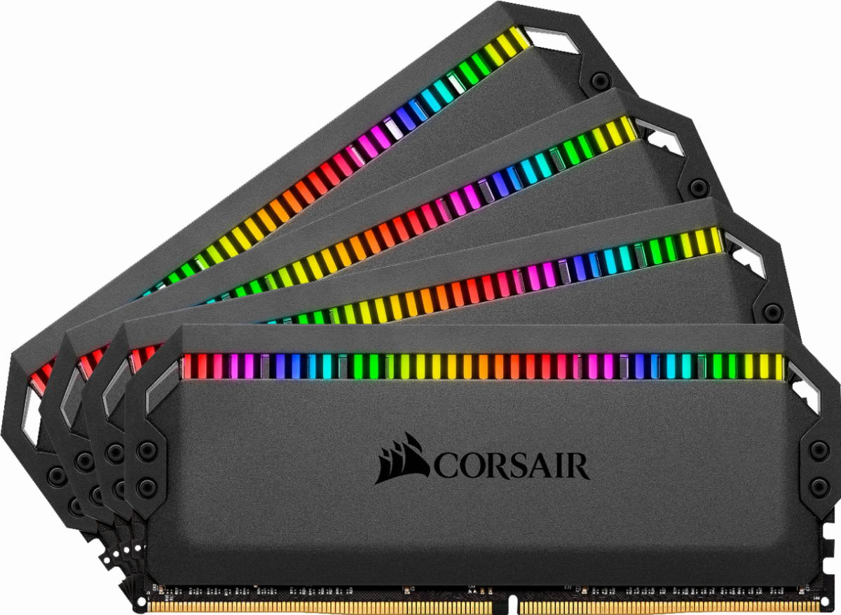 Памети Corsair Dominator Platinum RGB 32GB (4x8GB) 3200MHz DDR4 CL16