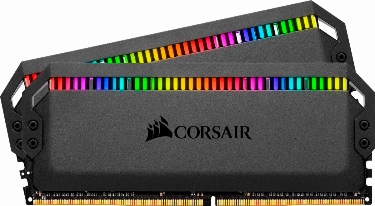 Памет Corsair Dominator Platinum RGB 16GB (2x8GB) 4000 MHz DDR4 CL19