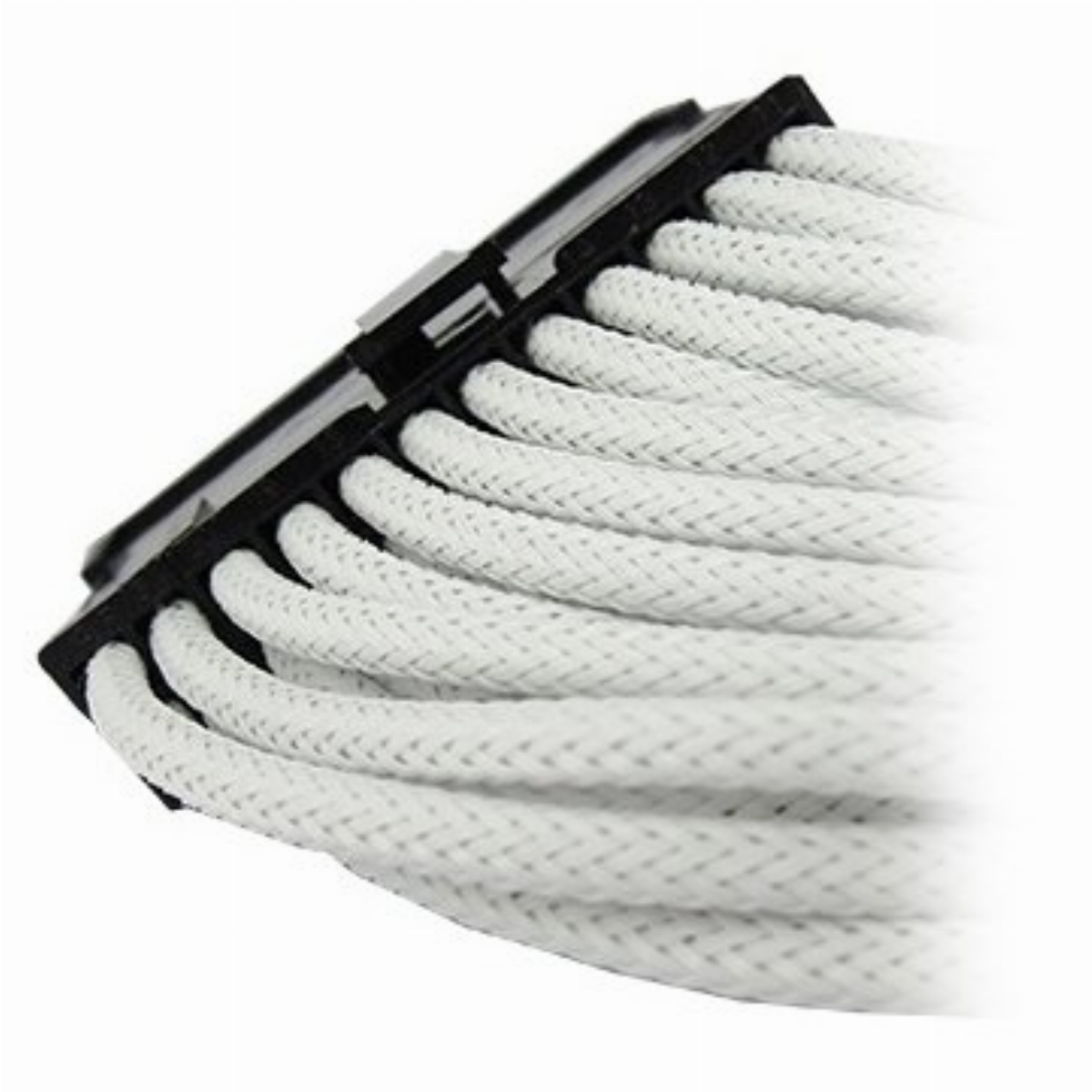 Оплетен кабел Gelid 24pin Power extension cable 30cm individually sleeved UV WHITE