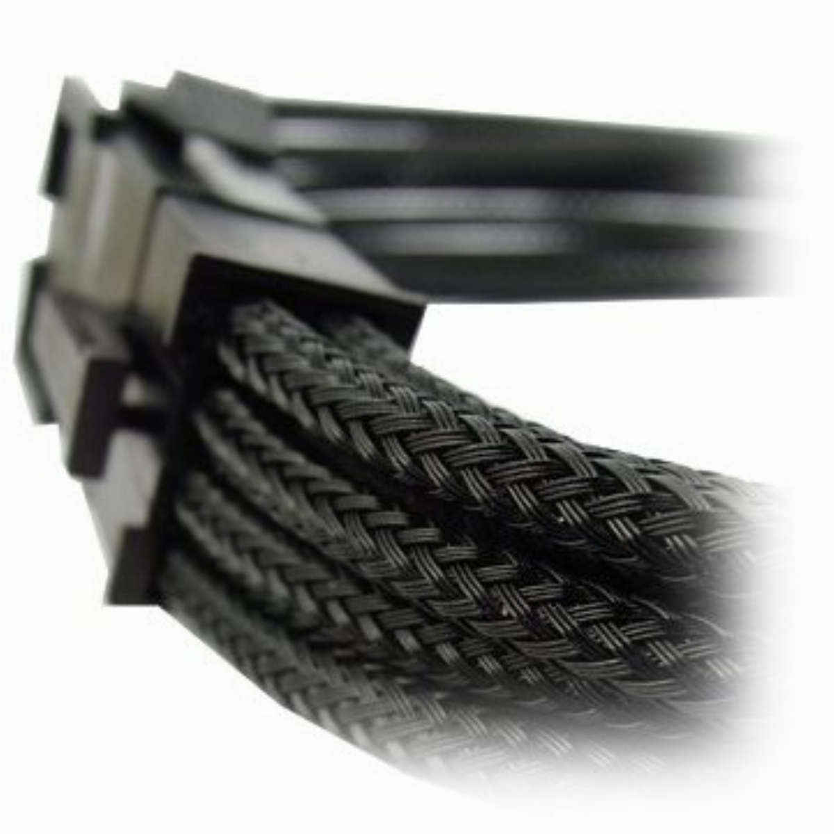 Оплетен кабел Gelid 8pin Power extension cable 30cm individually sleeved black