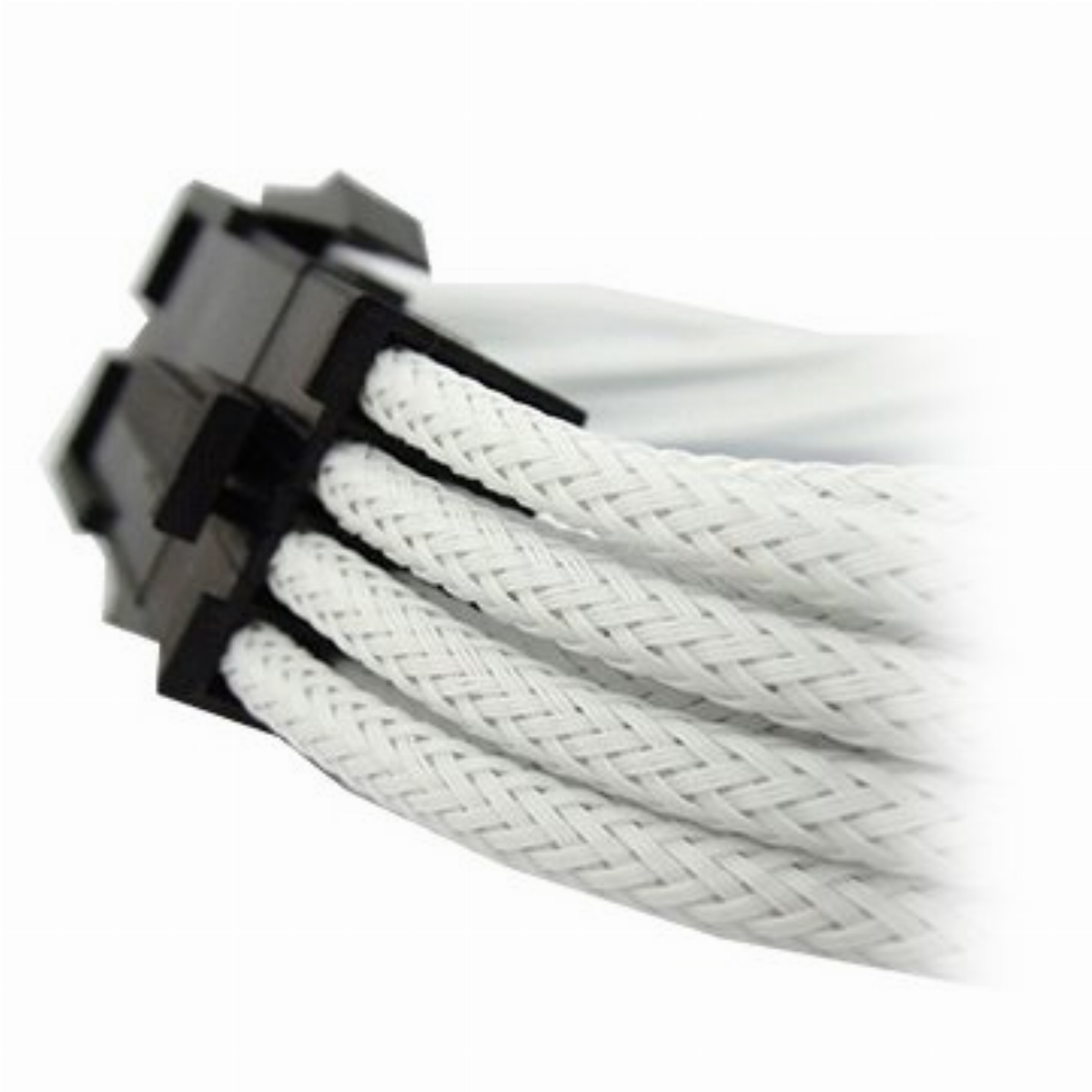 Оплетен кабел Gelid 8pin Power extension cable 30cm individually sleeved UV White