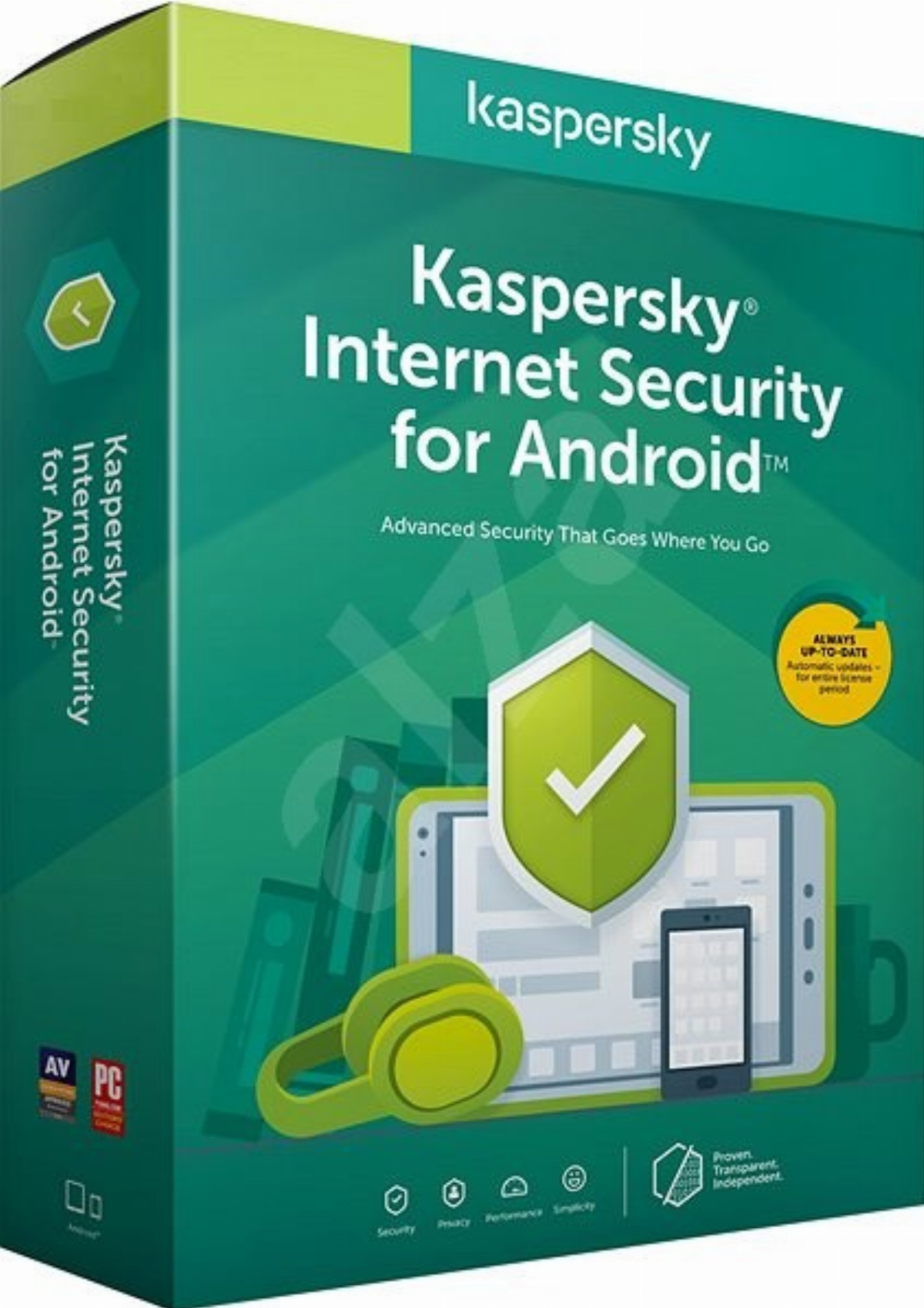 Антувирусен софтуер KASPERSKY INTERNET SECURITY FOR ANDROID