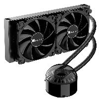 Охладител за процесор Jonsbo Jellyfish 240 ARGB, течно охлаждане, AMD/INTEL Снимка 4