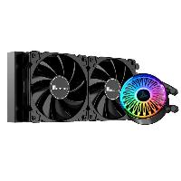 Охладител за процесор Jonsbo Jellyfish 240 ARGB, течно охлаждане, AMD/INTEL Снимка 5