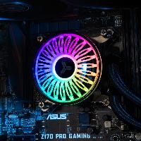 Охладител за процесор Jonsbo Jellyfish 240 ARGB, течно охлаждане, AMD/INTEL Снимка 17