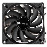 Охладител за процесор Jonsbo HP-400 Black, Low-profile, AMD/INTEL Снимка 2