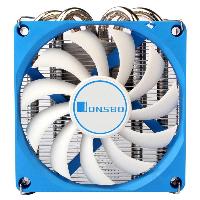 Охладител за процесор Jonsbo HP-400, Low-profile, AMD/INTEL Снимка 3