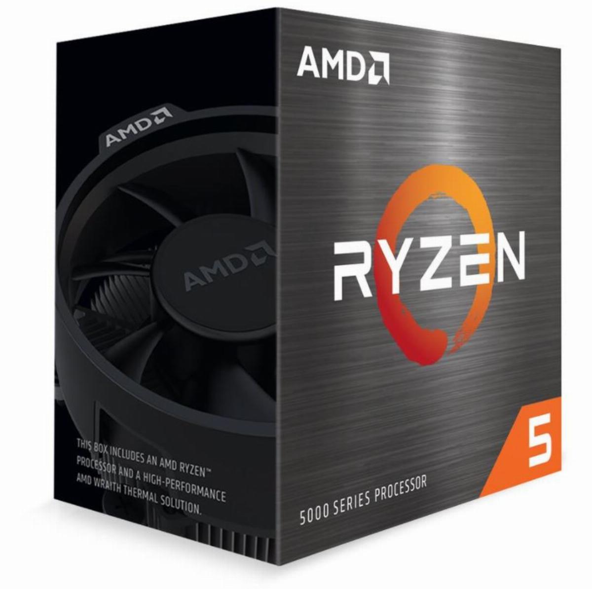 Процесор AMD Ryzen 5 5600X (4.6GHz Max Boost,35MB,65W,AM4) box