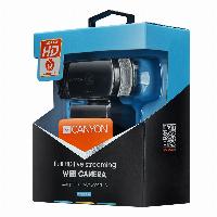 Уеб камера Canyon CNS-CWC5 Full HD, 1080p, 30 fps, CMOS, USB2.0, Стрийминг Снимка 3