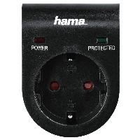 Контакт HAMA 108878, с вграден защита от пренапрежение  Снимка 1
