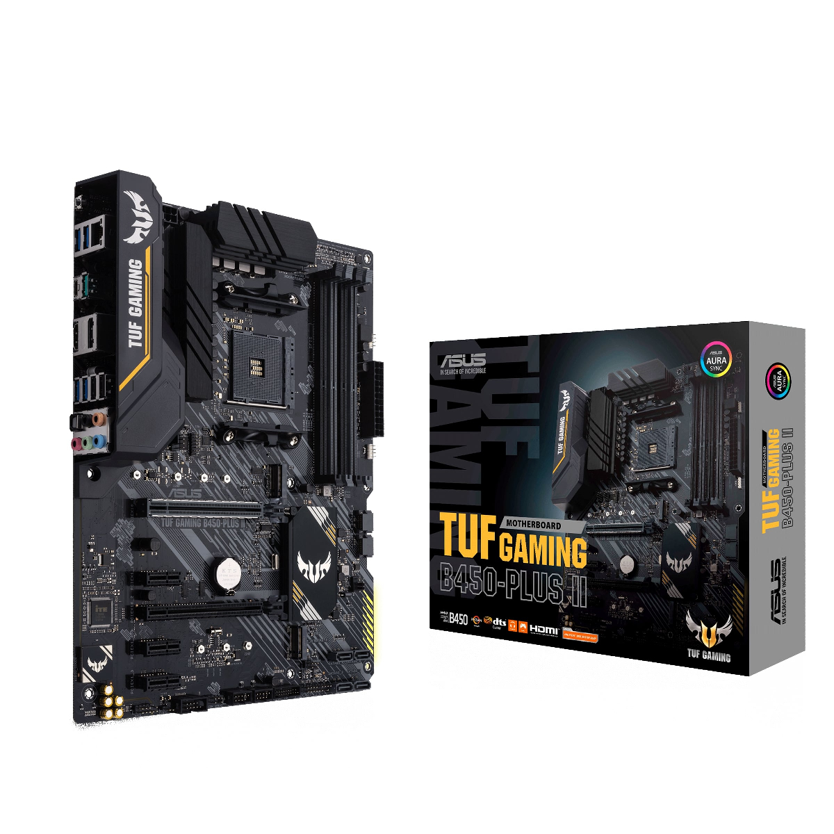 Дънна платка ASUS TUF GAMING B450-PLUS II