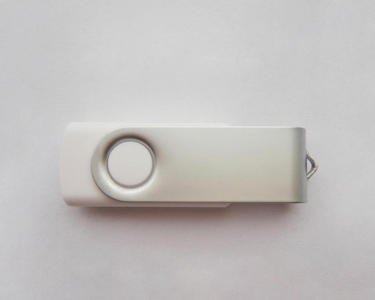 USB памет ESTILLO SD-01 32 GB, Без лого, Бял