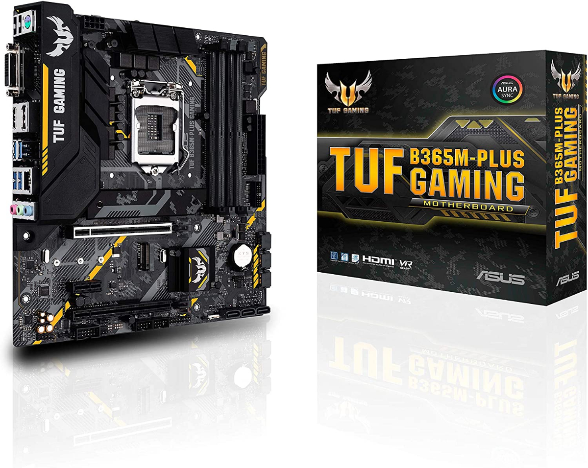 Дънна платка ASUS TUF B365M-PLUS GAMING