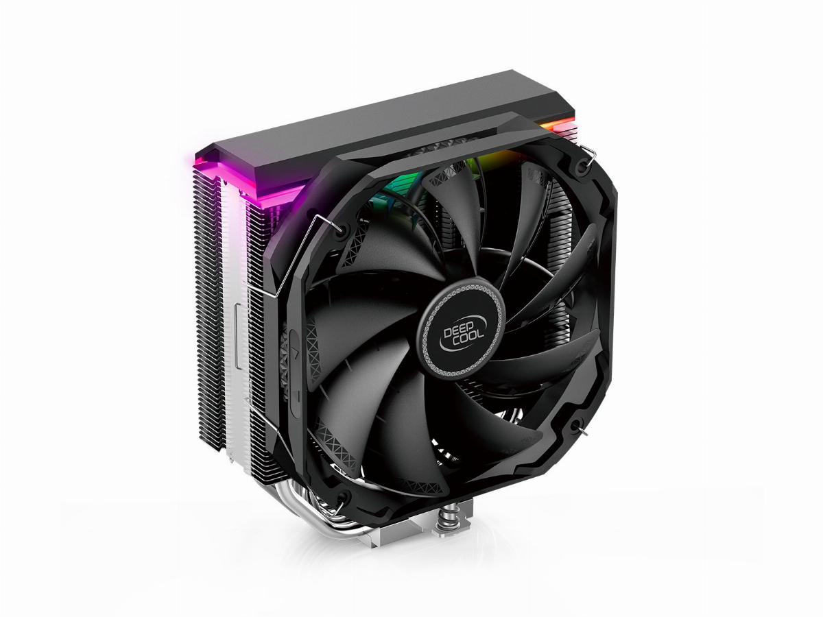 Охладител за процесор DeepCool AS500 aRGB CPU Cooler with controller