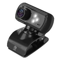 Уеб камера Marvo MPC01 Web Camera USB 1080p LED Audio Снимка 1
